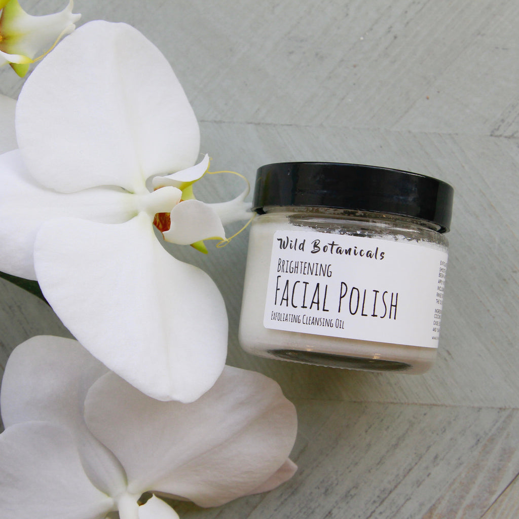 Wild Botanicals - Brightening Facial Polish