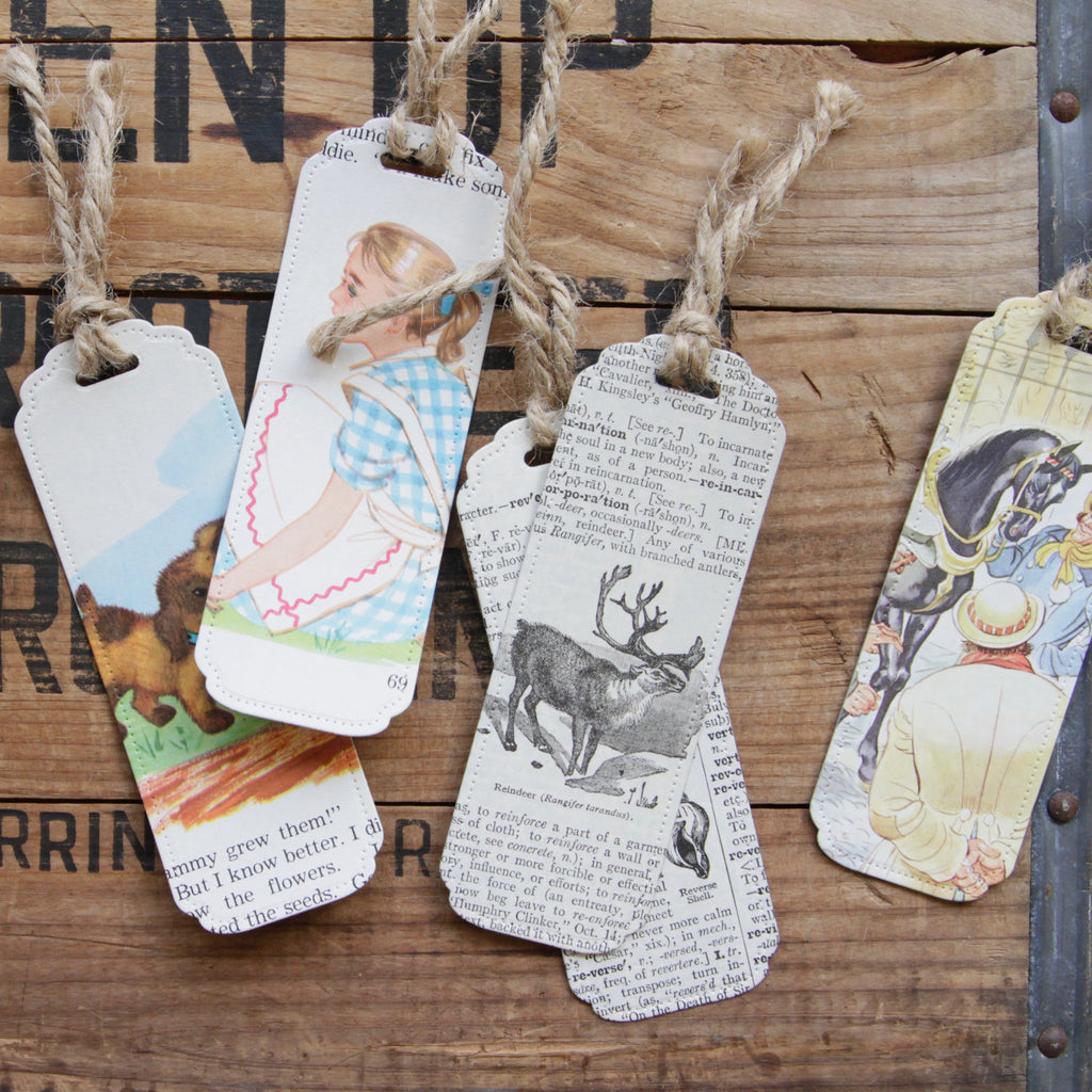 Paper Butterfly Forge - Bookmarks