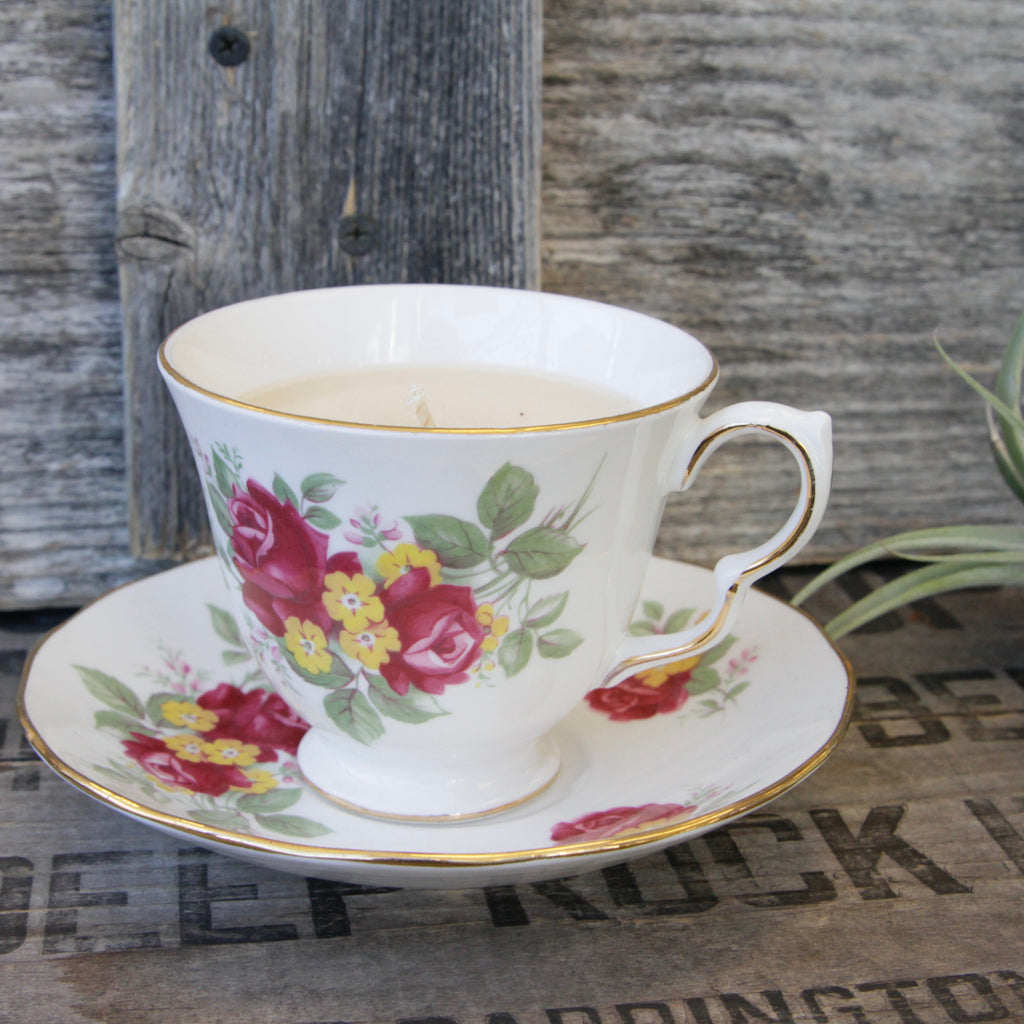 Dot & Lil - Vintage Teacup Candle