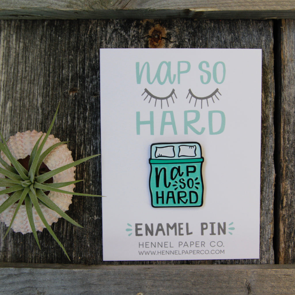 Hennel Paper Co. - Enamel Pins