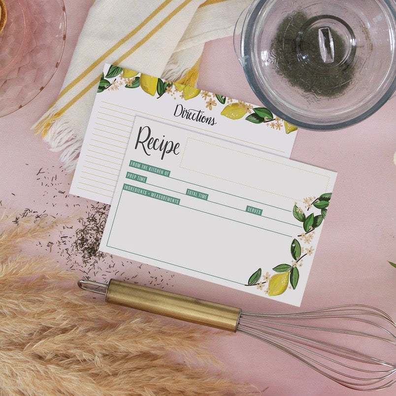 Lily & Val - Recipe Card Pack