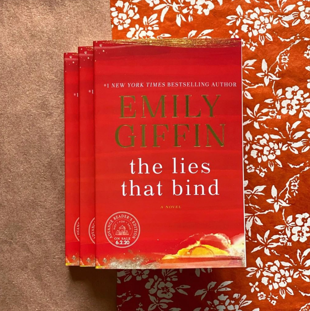 Virtual Book Club: The Lies That Bind by Emily Giffin, July 13th