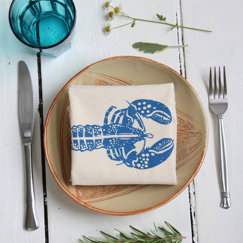 Hearth and Harrow - Hand Printed Cloth Napkins