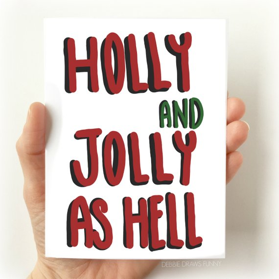 Debbie Draws Funny - Holiday Cards
