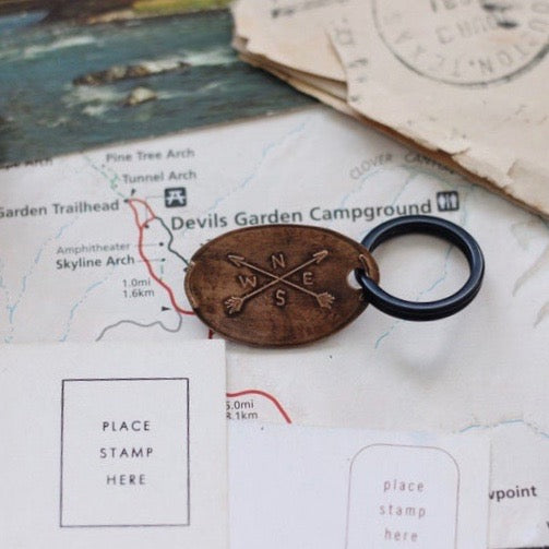 The Traveling Penny - Keychains