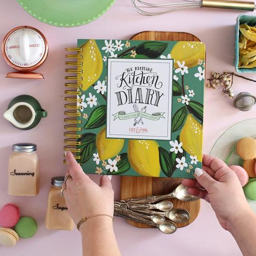 Lily and Val - The Keepsake Kitchen Diary™ - Whimsical Lemons