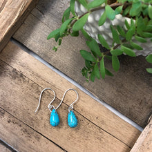 MetaMorph Jewelry - Turquoise Teardrop Earrings