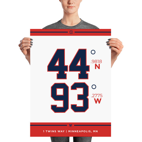 Minnesota Twins <br> Unframed Poster
