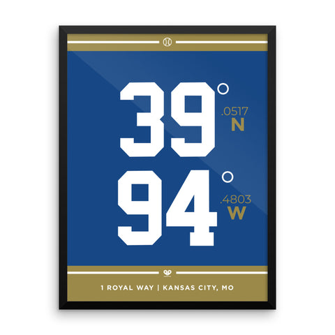 Kansas City Royals <br>Framed Poster