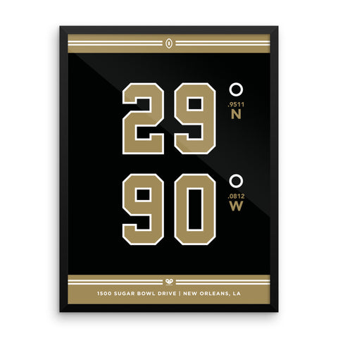 New Orleans Saints <br>Framed Poster