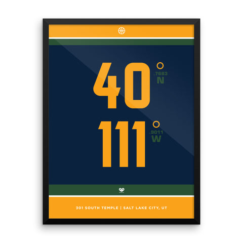 Utah Jazz <br>Framed Poster