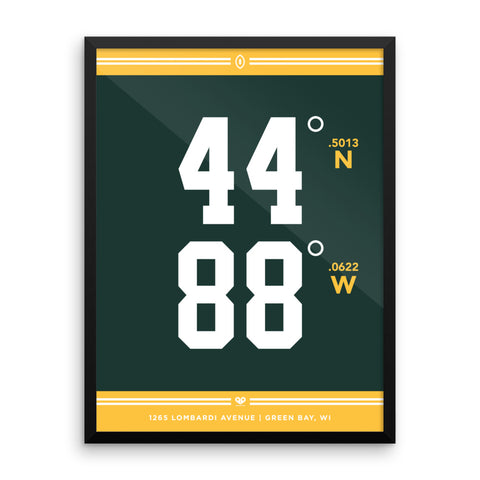 Green Bay Packers <br>Framed Poster