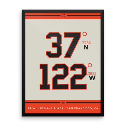 San Francisco Giants <br>Framed Poster