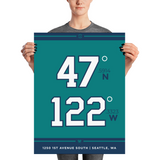 Seattle Mariners <br> Unframed Poster