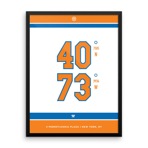 New York Knicks <br>Framed Poster