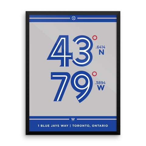 Toronto Blue Jays <br> Framed Poster