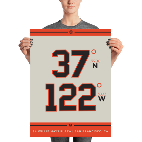 San Francisco Giants <br> Unframed Poster