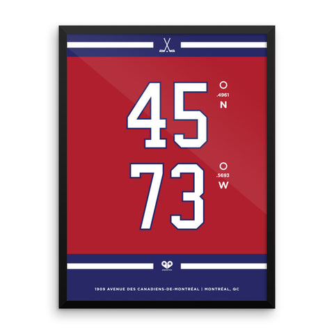 Montreal Canadiens <br>Framed Poster