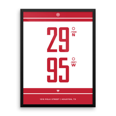 Houston Rockets <br>Framed Poster