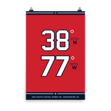 Washington Nationals <br> Unframed Poster