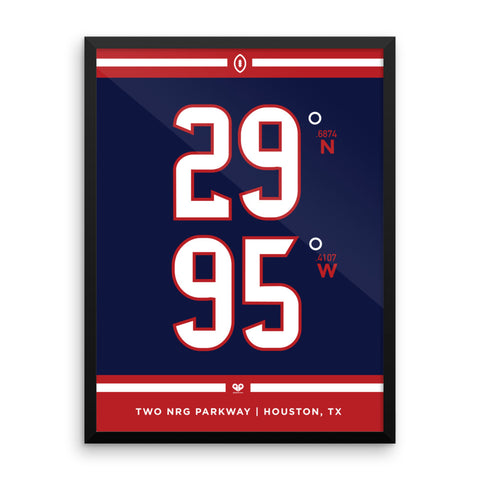 Houston Texans <br>Framed Poster