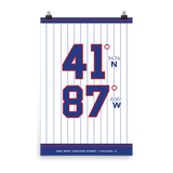 Chicabo Cubs <br> Unframed Poster