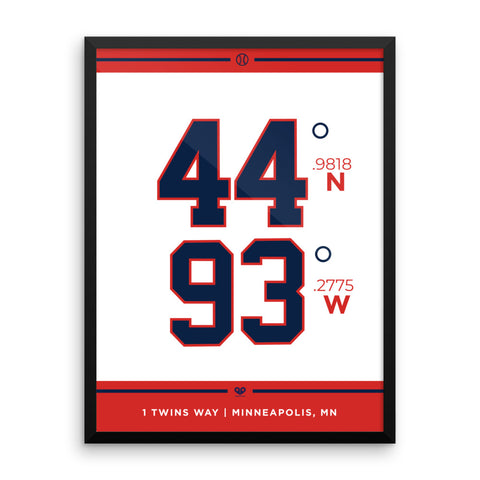 Minnesota Twins <br>Framed Poster