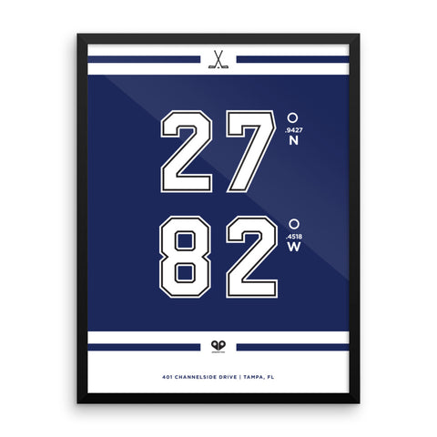 Tampa Bay Lightning <br>Framed Poster