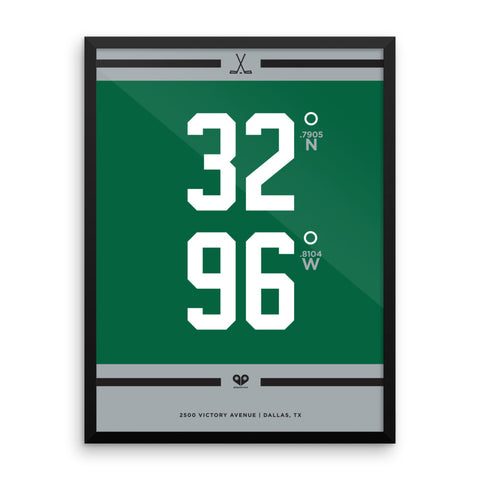 Dallas Stars <br>Framed Poster