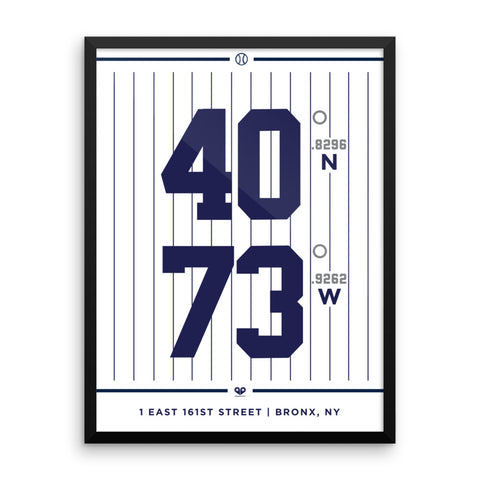 New York Yankees <br>Framed Poster