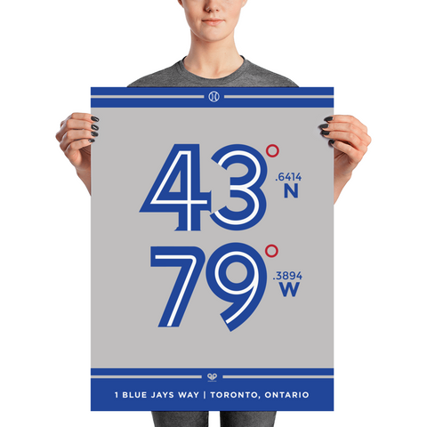 Toronto Blue Jays <br> Unframed Poster