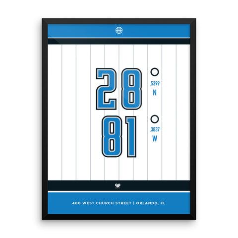 Orlando Magic <br>Framed Poster