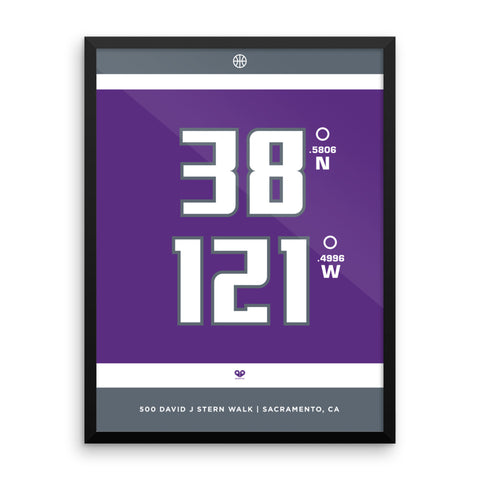 Sacramento Kings <br>Framed Poster