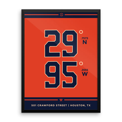 Houston Astros <br>Framed Poster