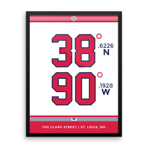 St. Louis Cardinals <br>Framed Poster