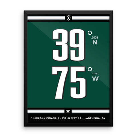 Philadelphia Eagles <br>Framed Poster