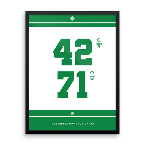 Boston Celtics <br>Framed Poster