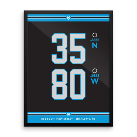 Carolina Panthers <br>Framed Poster
