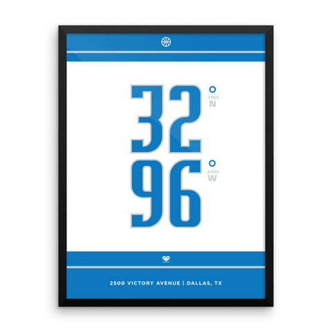 Dallas Mavericks <br>Framed Poster