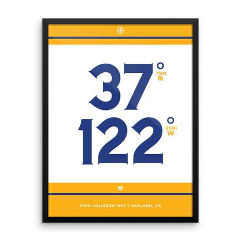 Golden State Warriors <br>Framed Poster