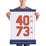New York Mets <br> Unframed Poster
