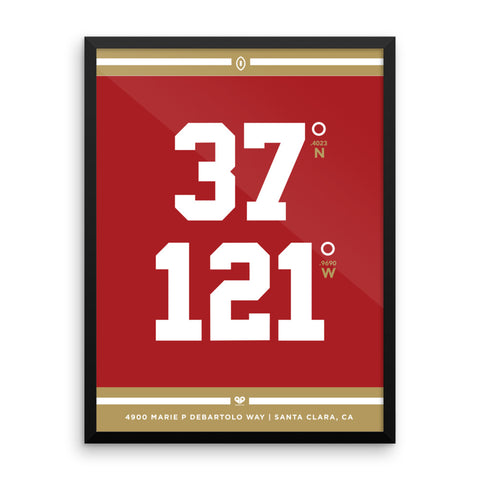 San Francisco 49ers <br>Framed Poster