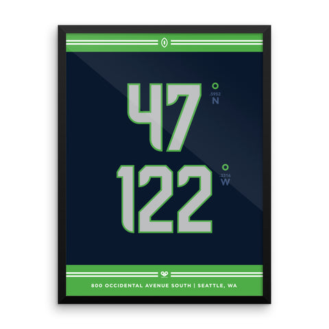 Seattle Seahawks <br>Framed Poster