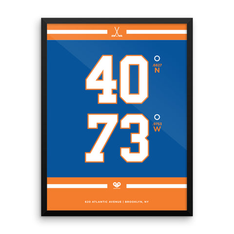 New York Islanders <br>Framed Poster
