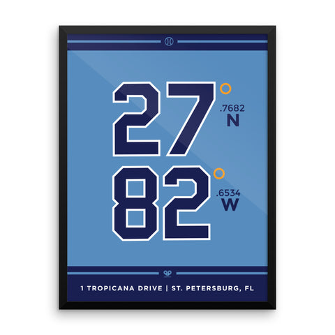 Tampa Bay Rays <br> Framed Poster