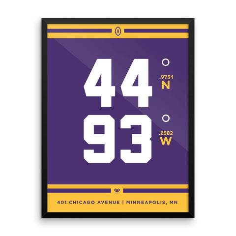 Minnesota Vikings <br>Framed Poster