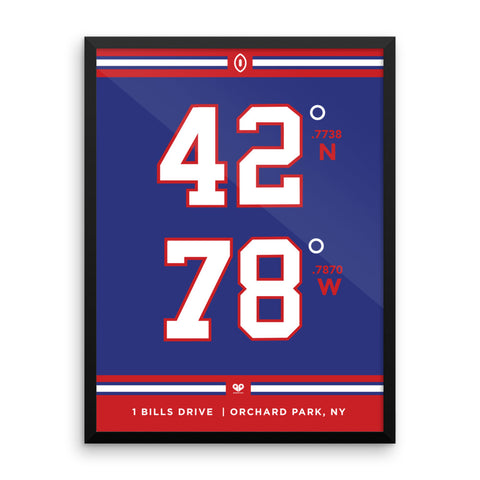 Buffalo Bills <br>Framed Poster