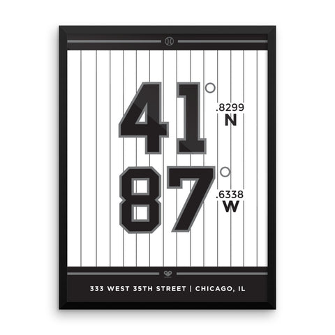 Chicago White Sox <br>Framed Poster
