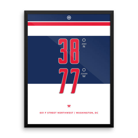 Washington Wizards <br>Framed Poster