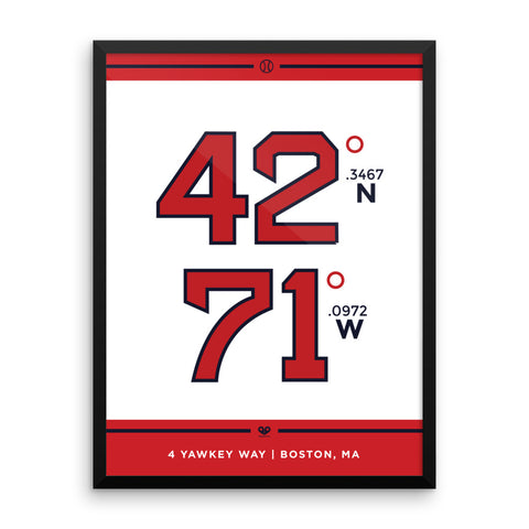 Boston Red Sox <br>Framed Poster